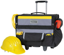 Stanley Toolbox 46x33x45 cm with wheels Female and Outer pockets robust