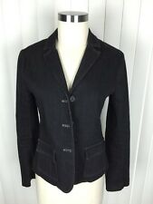 Theory Women's Cotton Denim Jacket Sports Coat Blazer 6