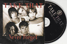 CD CARDSLEEVE TAKE THAT ROBBIE WILLIAMS NEVER FORGET 2T DE 1995