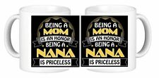 Priceless Nana Ceramic Coffee Mug ANY design of your Choice Have It YOUR Way