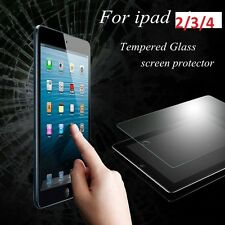 Genuine Premium Tempered Glass Film Screen Protector For Apple iPad  2 / 3 / 4