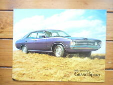 FORD FALCON GRAND SPORT  BROCHURE RS  GT 40 1970S 351 XA