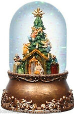 SNOW GLOBES - NATIVITY SNOW GLOBE - ANIMATED AND MUSICAL SNOWGLOBE -  WATERGLOBE