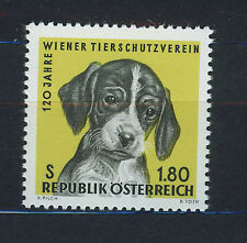 AUSTRIA 1966 MNH SC.763 Animals protection