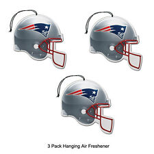 New Team ProMark NFL New England Patriots Long Lasting Scent Air Freshener 3Pack
