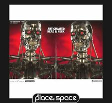 TERMINATOR T-800 1:1 SCALE LIFE-SIZE SIDESHOW BUST (WK 25) UK SELLER IN HAND