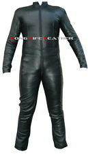Custom Size Color Zipper Bespoke Tailor Made Leather Catsuit Brand New #2909