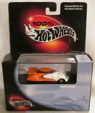 2000 Hot Wheels Limited Edition 100% HOT WHEELS BLACK BOX ORANGE RAREFLOW