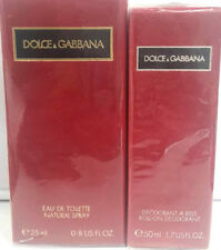 D&G  Pour Femme Edt 25ml Spray + GIFT Deo Roll On 50ml Vintage -  New & Rare