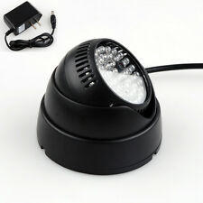 48 LED 12V Illuminator IR Infrared Night Vision Light Security Lamp Power s