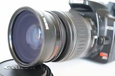 Macro Wide Angle Lens for Canon Eos Digital Rebel & XTi sl1 XTi w/18-55 EFS II