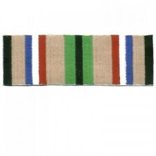 DESERT STORM SERVICE RIBBON  VETERAN MILITARY EMBROIDERED IRON ON PATCH