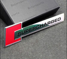 Supercharged Red Sticker 3D Racing Honda City Amaze Jazz Brio Accord Civic