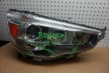 for parts only 11-15 MITSUBISHI OUTLANDER RIGHT PASSENGER XENON HEADLIGHT OEM