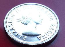 SELECT SILVER UNC 1964 MIRROR CANADA .800 Silver 25 cents Caribou Elizabeth II,