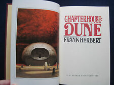 CHAPTERHOUSE DUNE - SIGNED by FRANK HERBERT Deluxe Numbered Edition in Slipcase