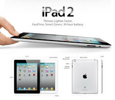 Apple IPAD 2 16gb, Wi-Fi, 9.7in - Nero/Argento Mix-Regno Unito iPad -