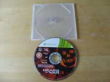 XBOX 360 GAME - GEARS OF WAR 3 -  DISC ONLY - DISC ONLY - FREE UK P&P