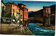 CPA SOSPEL .- Le vieux pont sur la bevera  (192180)