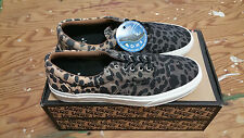 Vans Era CA Ombre Dyed Cheetah Black Men's Skate Shoes Size 10.5 supreme wtaps