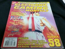Electronic Gaming Monthly Magazine # 58 May 1994 EGM Mortal Kombat 2 Move List