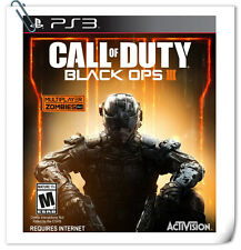 PS3 Call of Duty: Black Ops III SONY PLAYSTATION Activision Action Games