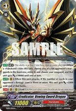 Cardfight Vanguard English TD09/001EN Eradicator,Vowing Sword Dragon Foil