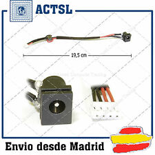 CONECTOR DC JACK  TOSHIBA Satellite A100 (with cable)