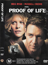 Proof of Life-2000-Meg Ryan- Movie-DVD