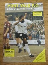 23/02/1991 Port Vale v Bristol Rovers  (No Obvious Faults)