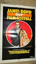 sean connery OPERATION TONNERRE thunderball affiche cinema  007 james bond