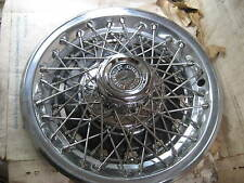 NOS New ONE GM 14 Inch Wire Wheel Hubcap Wheel Cover Chevy Pontiac Buick Olds