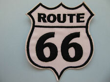 Route 66 American Highway Road Sign Iron on Applique Patch