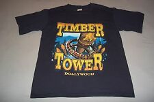 Dollywood Timber Tower Dolly Parton Amusement Park Ride T-Shirt Adult Small