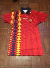 1994 Adidas World Cup Spain Soccer/futbol Jersey/camisetas Men's Small Vintage