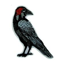 Death Raven Patch Iron on Applique Alternative Clothing Edgar Allan Poe Zombie