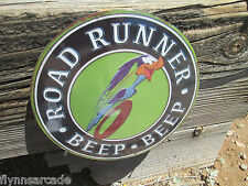 Road Runner Beep Beep Metal Sign Hemi Super bird Bee Plymouth Petty Dodge Mopar