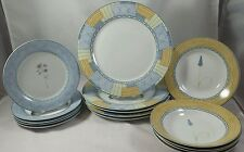 WHEAT LUNCHEON DINNER PLATE COUPE BOWL BY ROYAL PRESTIGE FINE PORCELAIN CHINA