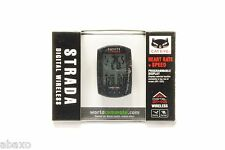 Cateye Strada Digital Wireless Cycling Computer Heart Rate CC-RD420DW Black