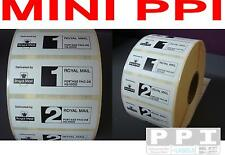 1000 Royal Mail MINI PPI Only Labels On Roll PPI-04-ROLL 62x25 1st 2nd Class