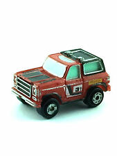 Micro Machines Vehicle Car SUV Chevy Blazer Chevrolet Truck Sport Utility Red