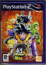 PS2 Super Dragon Ball Z ( 2006 ), UK Pal, Brand New & Sony Factory Sealed