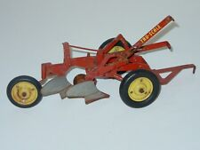 Vintage Tru Scale 2 Bottom Plow, Farm Implement, Toy
