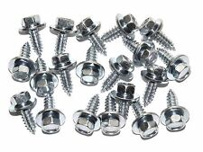 "Cadillac Hex Head Sheet Metal Screws- Qty.20- 1/4"" x 3/4""- 3/8"" Hex- #175"
