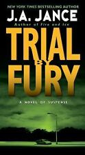 Trial by Fury by J. A. Jance  (J. P. Beaumont Novel #3) (2009, Paperback) 9X-68