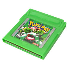 Pokemon GBC Game Card For Nintendo Game Boy Advance GBA SP Green Gifts