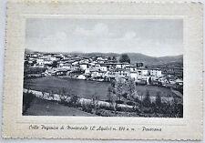 COLLE PAGANICA DI MONTEREALE viagg 1972 L'Aquila