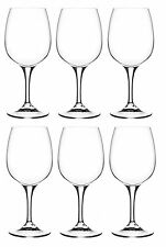 RCR Daily Set Of 6 Crystal Red Wine Glasses Stemmed Liqueur Glass 27cl/270ml