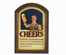 Wooden Cheers 3D Art with FREE Shipping