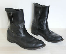 Vintage RED WING Biker Motorcycle Riding Boots Mens 11.5 E USA Winged Soles